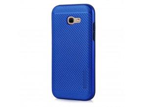 Odolný karbonový kryt na Samsung Galaxy A3 2017 modrý