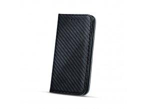 Flipové karbonové pouzdro na Huawei Nova Plus