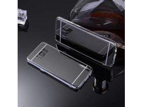 Zrcadlový silikonový kryt na Samsung Galaxy S8 černý 1