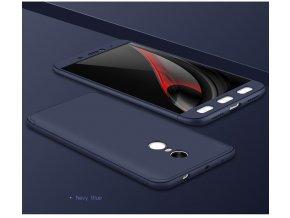 360 oboustranný kryt na Xiaomi Redmi 4X modrý 1