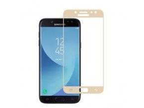 3D tvrzené sklo na Samsung J7 2017 zlaté
