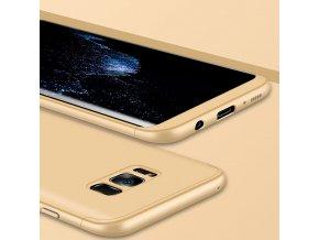 360 oboustranný kryt na Samsung Galaxy S8 Plus zlatý 2