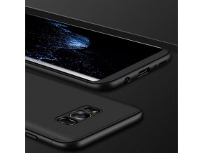 360 oboustranný kryt na Samsung Galaxy S8 černý 1