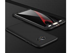 360 oboustranný kryt na Samsung Galaxy S7 Edge černý 2