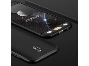 360 oboustranný kryt na Samsung Galaxy J5 2017 černý 1