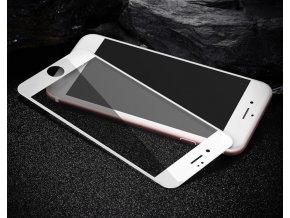 3D tvrzené sklo na iphone 6 bílé soft