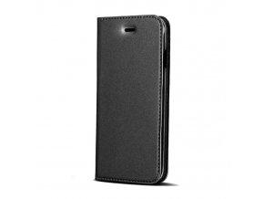 flipové pouzdro Premium na Huawei Y7 černé