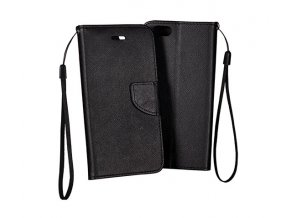 PU kožené pouzdro na Nokia 8 černé
