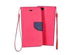 PU kožené pouzdro na Nokia 6 růžové