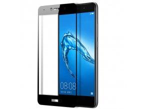 3d tvrzené sklo na Huawei Y7 černé 1