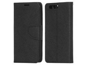 PU kožené pouzdro na Huawei Honor 9 černé