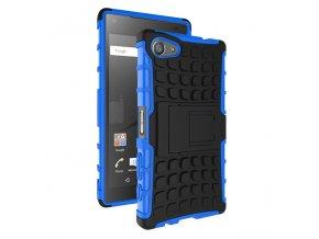 Outdoor obal se stojánkem na Sony Xpreai Z5 compact modrý