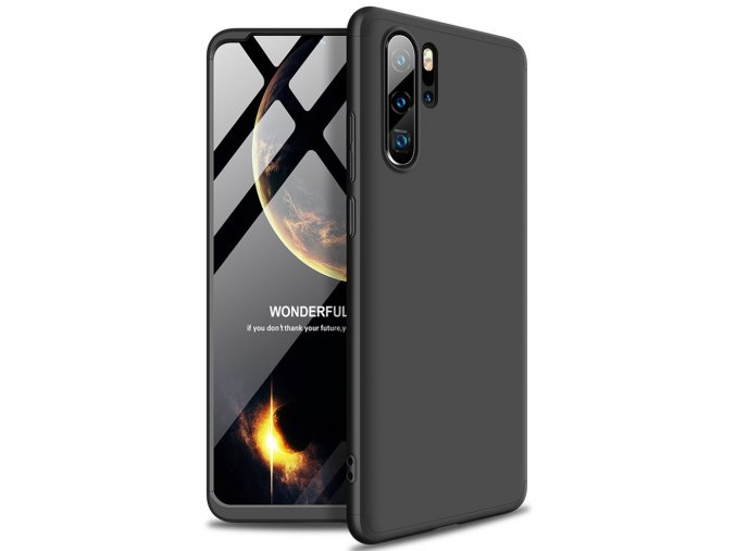 eng pl GKK 360 Protection Case Front and Back Case Full Body Cover Huawei P30 Pro black 48842 2