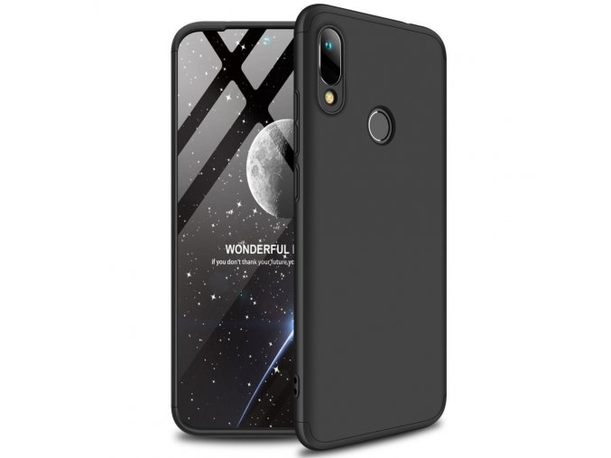 eng pl GKK 360 Protection Case Front and Back Case Full Body Cover Huawei Y6 2019 black 50065 1
