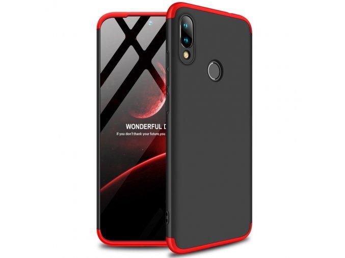 pol pl GKK 360 Protection Case etui na cala obudowe przod tyl Xiaomi Redmi 7 czarno czerwony 50060 1