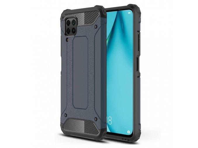 eng pl Hybrid Armor Case Tough Rugged Cover for Huawei P40 Lite Nova 7i Nova 6 SE blue 60003 1