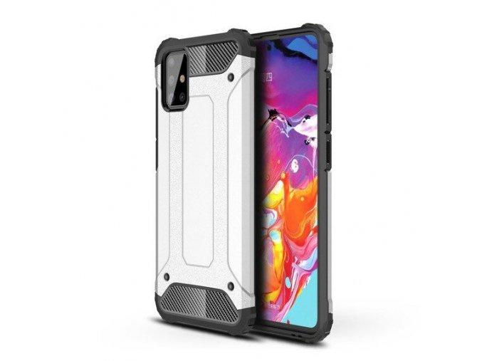 eng pl Hybrid Armor Case Tough Rugged Cover for Samsung Galaxy A51 silver 58475 1