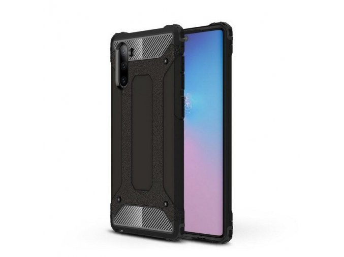 eng pl Hybrid Armor Case Tough Rugged Cover for Samsung Galaxy Note 10 black 52370 1