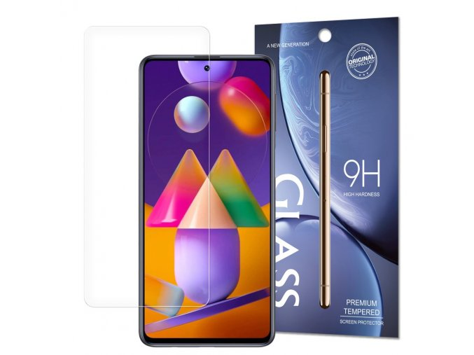 eng pl Tempered Glass 9H Screen Protector for Samsung Galaxy M31s packaging envelope 63432 1 (1)