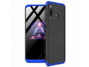 eng pl GKK 360 Protection Case Front and Back Case Full Body Cover Huawei P30 Lite black blue 49662 1