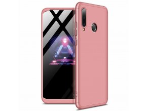 eng pl GKK 360 Protection Case Front and Back Case Full Body Cover Huawei P30 Lite pink 49663 1