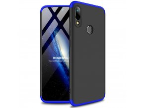 eng pl GKK 360 Protection Case Front and Back Case Full Body Cover Huawei Y6 2019 black blue 50068 1