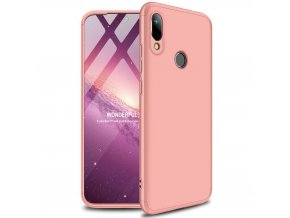 eng pl GKK 360 Protection Case Front and Back Case Full Body Cover Huawei Y6 2019 pink 50069 1