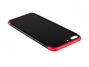 12726 6 360 ketoldalas vedotok iphone 7 iphone 8 pirosfekete bez vyrezu na logo