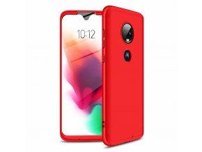 eng pl GKK 360 Protection Case Front and Back Case Full Body Cover Motorola Moto G7 red 46551 1