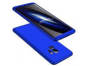 360 oboustranný kryt na Samsung Galaxy S9 světle modrý 1