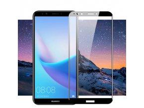 3D Tvrzené sklo na Huawei Y6 2018 černé