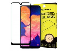 eng pl Wozinsky Tempered Glass Full Glue Super Tough Screen Protector Full Coveraged with Frame Case Friendly for Samsung Galaxy A10 black 50877 1