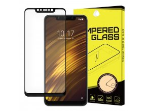 eng pl Wozinsky Tempered Glass Full Glue Super Tough Screen Protector Full Coveraged with Frame Case Friendly for Xiaomi Pocophone F1 black 43135 5