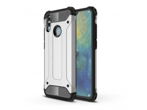 eng pl Hybrid Armor Case Tough Rugged Cover for Huawei P Smart 2019 silver 46563 1