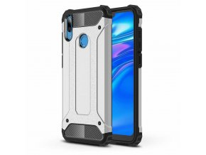 eng pl Hybrid Armor Case Tough Rugged Cover for Huawei Y6 2019 Huawei Y6s 2019 silver 48702 1