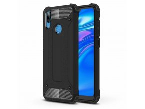 eng pl Hybrid Armor Case Tough Rugged Cover for Huawei Y6 2019 Huawei Y6s 2019 black 48699 1