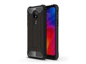 eng pl Hybrid Armor Case Tough Rugged Cover for Motorola Moto G7 Power black 50140 1