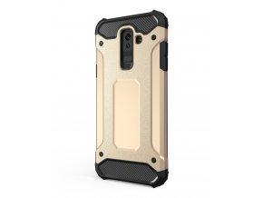 aeng pl Hybrid Armor Case Tough Rugged Cover for Samsung Galaxy A6 Plus 2018 A605 golden 42383 1