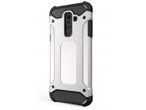 aeng pl Hybrid Armor Case Tough Rugged Cover for Samsung Galaxy A6 Plus 2018 A605 silver 42384 1