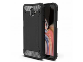 eng pl Hybrid Armor Case Tough Rugged Cover for Samsung Galaxy J6 Plus 2018 J610 black 45442 1