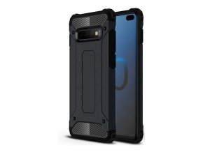 eng pl Hybrid Armor Case Tough Rugged Cover for Samsung Galaxy S10 Plus black 46580 1