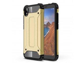 eng pl Hybrid Armor Case Tough Rugged Cover for Xiaomi Redmi 7A golden 52289 1