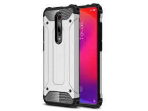 eng pl Hybrid Armor Case Tough Rugged Cover for Xiaomi Redmi 8 silver 55155 1