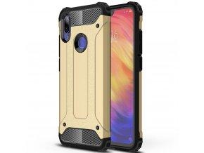 eng pl Hybrid Armor Case Tough Rugged Cover for Xiaomi Redmi Note 7 golden 48126 1