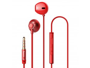 eng pl Baseus Enock H06 Lateral Earphones Earbuds Headphones with Remote Control red NGH06 09 46838 1