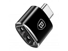 eng pl Baseus Converter USB to USB Type C Adapter Connector OTG black 25587 1