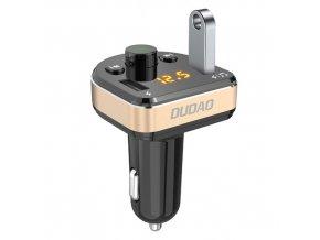 eng pm Dudao Bluetooth FM Transmitter MP3 Car Charger 2x USB 3 4A black R2Pro black 55628 1
