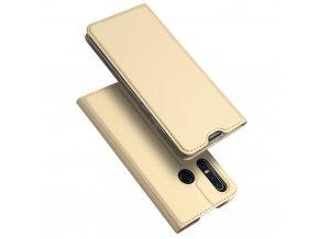eng pl DUX DUCIS Skin Pro Bookcase type case for Huawei P30 Lite golden 48284 1