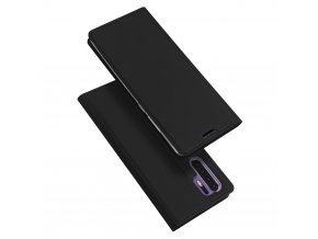 eng pl DUX DUCIS Skin Pro Bookcase type case for Huawei P30 Pro black 46668 1
