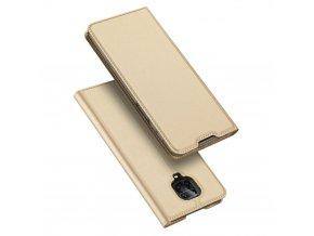 eng pl DUX DUCIS Skin Pro Bookcase type case for Xiaomi Redmi Note 9 Pro Redmi Note 9S golden 59982 1